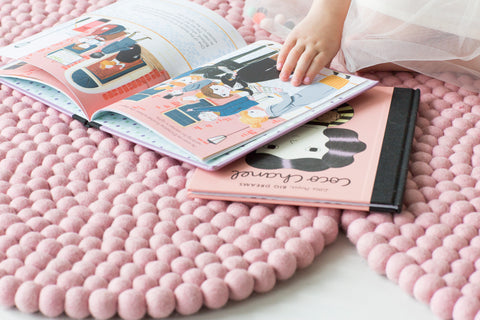 The Slumber Co Cloud Rug - Blush-The Slumber Co-Neapolitan Homewares