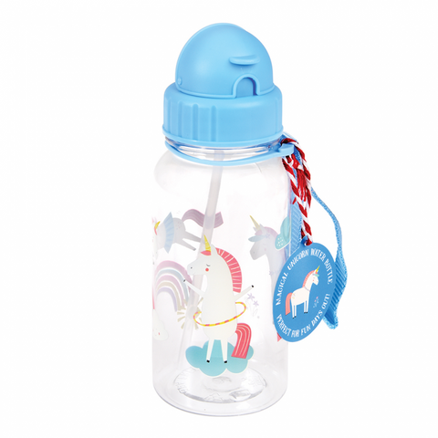 Rex London Water Bottle - Unicorn - Neapolitan Homewares
