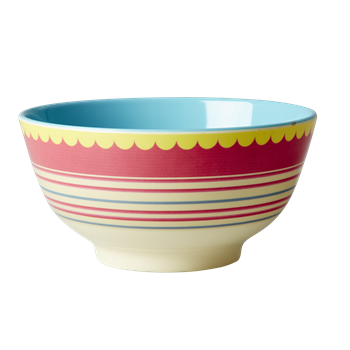 Striped Print bowl