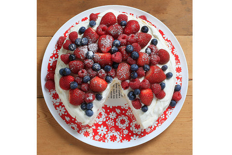 Retro Kitchen Pavlova Plate