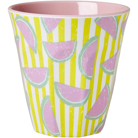 RICE melamine two tone tumbler - Watermelon Pink