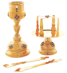 Chalice and Paten Eastern Rite Set (2223SET or 2249SET)