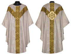 White (with gold ophrey) Vestment Set