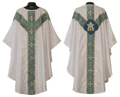 Marian White Vestment Set