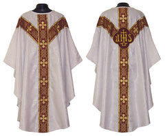White (with red ophrey) Vestment Set