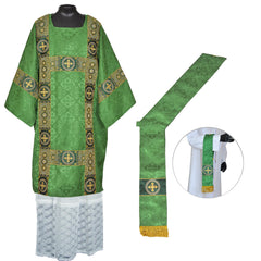 Dalmatic Vestment Set (includes Maniple and Deacon's stole)
