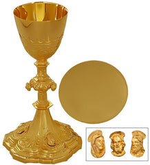 Ornate Chalice and Paten Set (0526CHA)