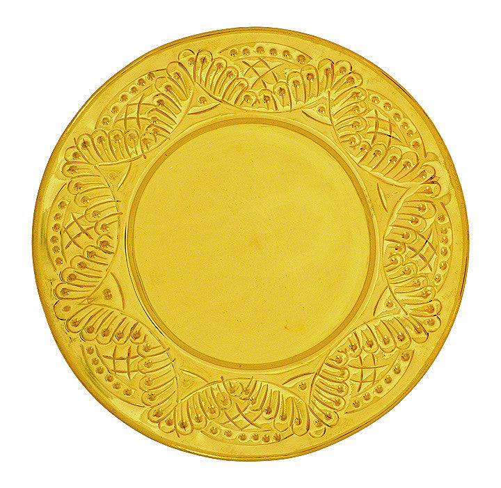 Paten, Beaten Edge Decorative