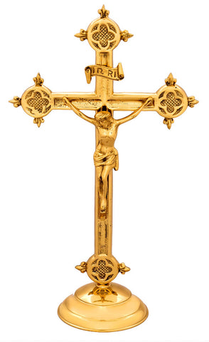 Crucifix - small devotional style
