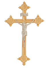 Wall Hanging Brass Crucifix (1009CRU)