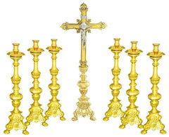 Purchase matching baroque candlesticks