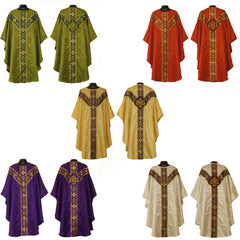 Gothic Chasuble Vestment and Stole UNLINED