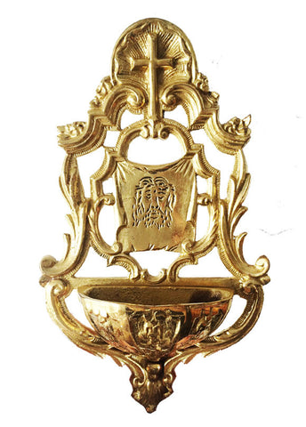 Ornate Hanging Holy Water Font