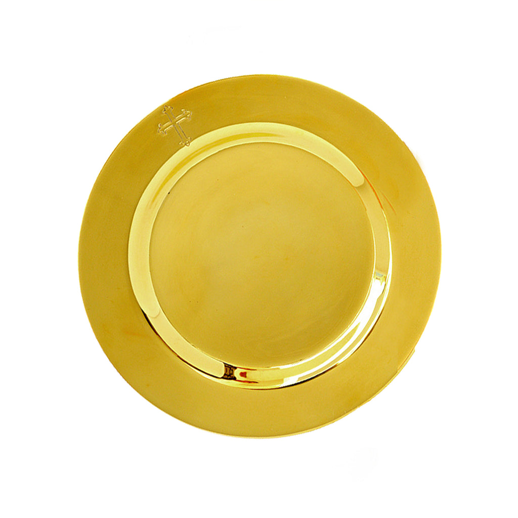 Paten (with small cross)