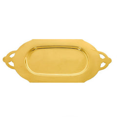 Communion Plate, Gold Plated