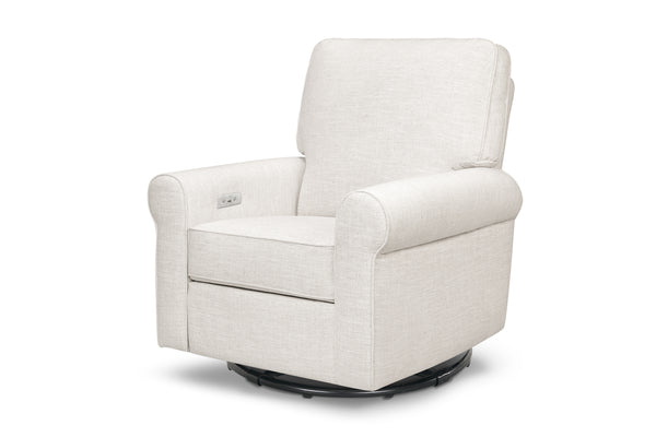 Monroe pillowback power recliner greenguard certified by franklin and ben