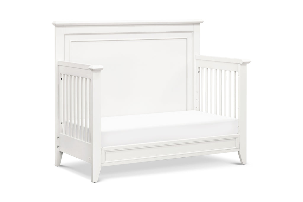 B14401RW,Beckett 4 in 1 Convertible Crib in Warm White