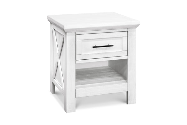 franklin and ben emory farmhouse nightstand Linen White