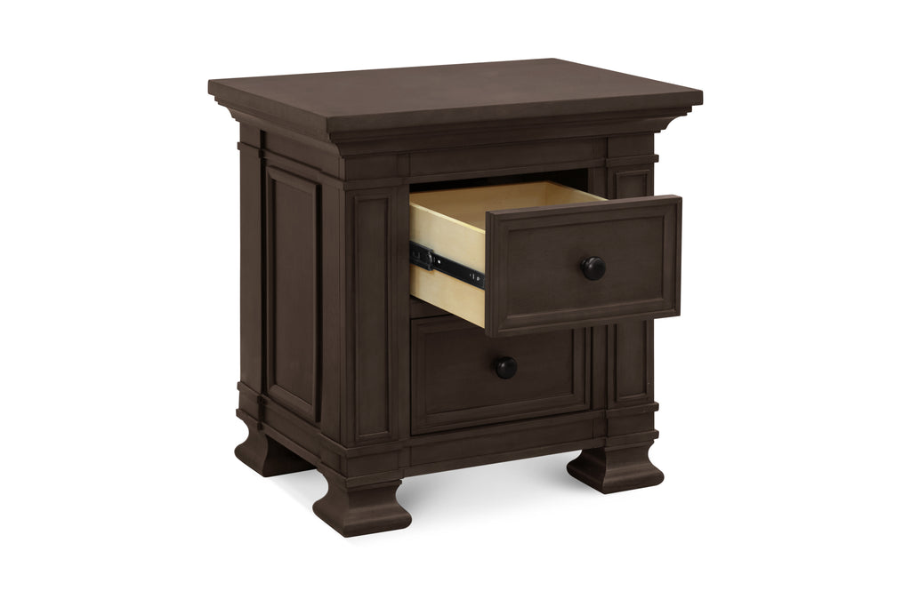 M7660TR,Classic Nightstand in Truffle