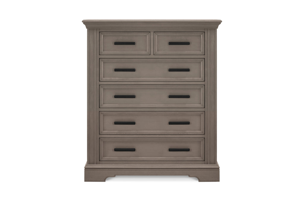 B17518FR,Holloway 6-Drawer Chest in French Roast