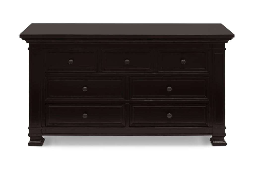 M7616DQ,Classic Double-Wide Dresser In Dark Espresso Finish