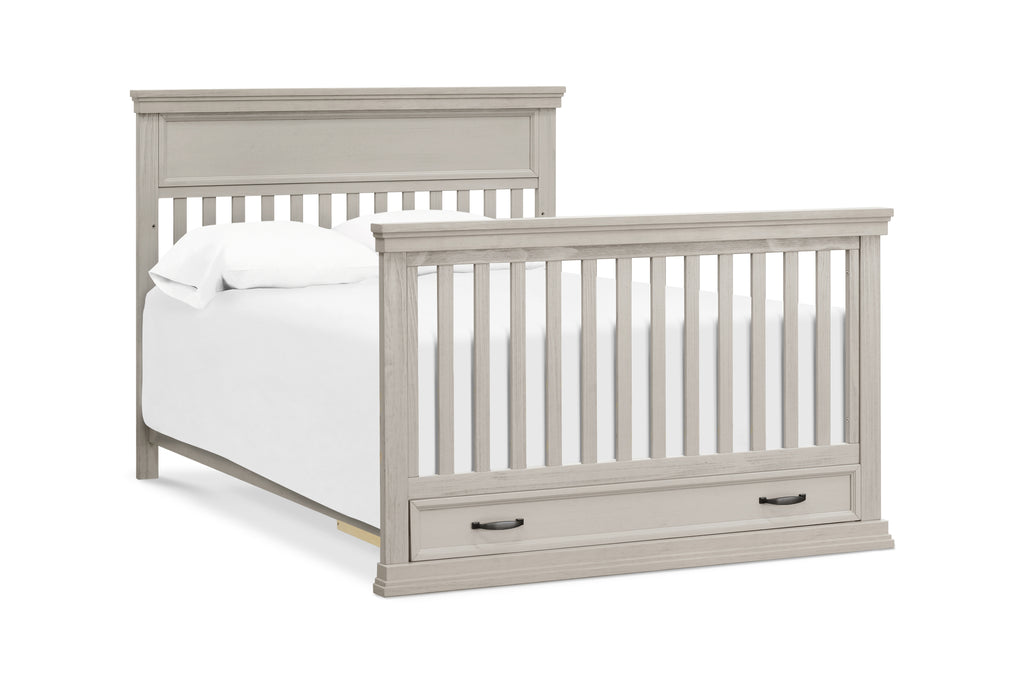 M14101LF,Langford 4-in-1 Convertible Crib in London Fog