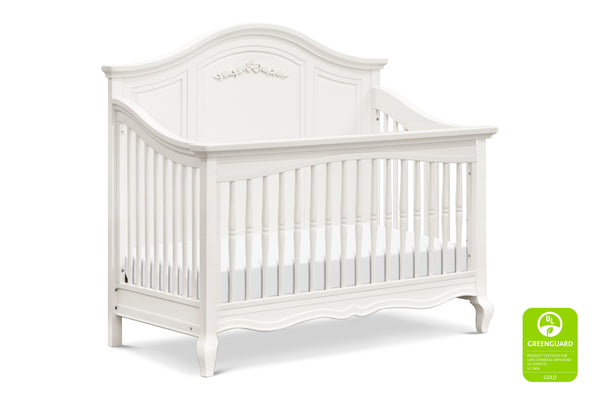 Mirabelle 4-in-1 Convertible Greenguard crib Warm White
