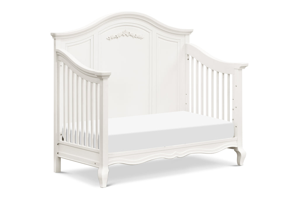 B19601RW,Mirabelle 4-in-1 Convertible Crib in Warm White