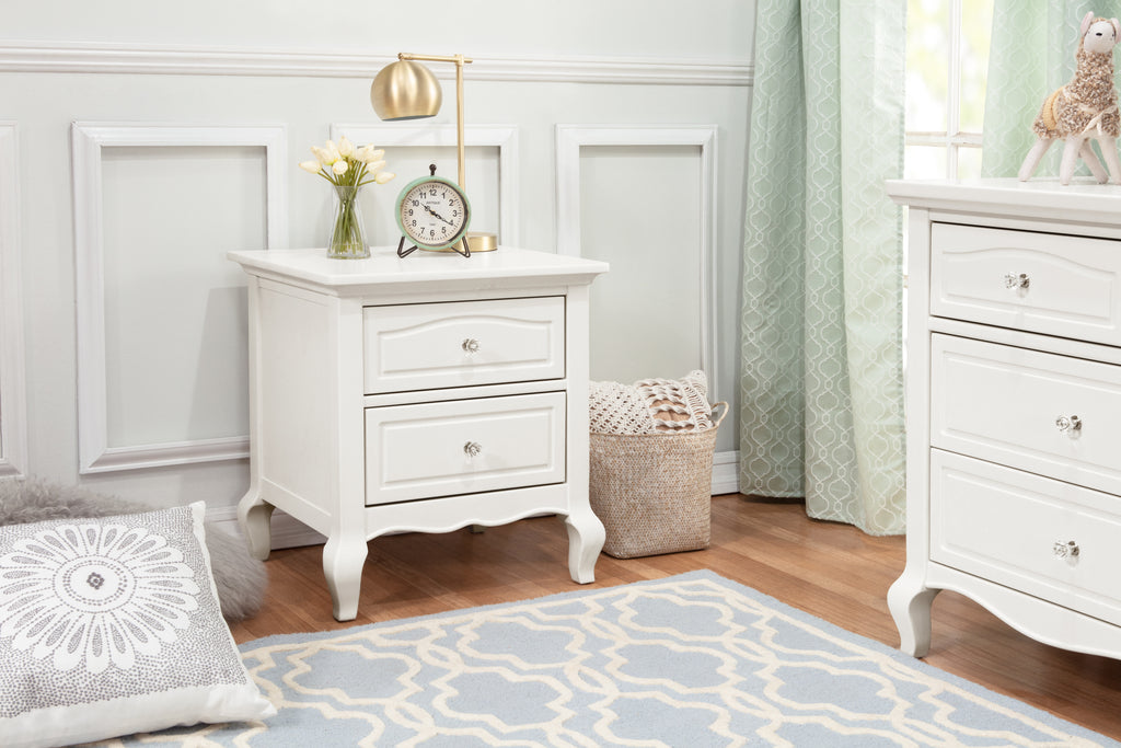 B19660RW,Mirabelle Nightstand in Warm White