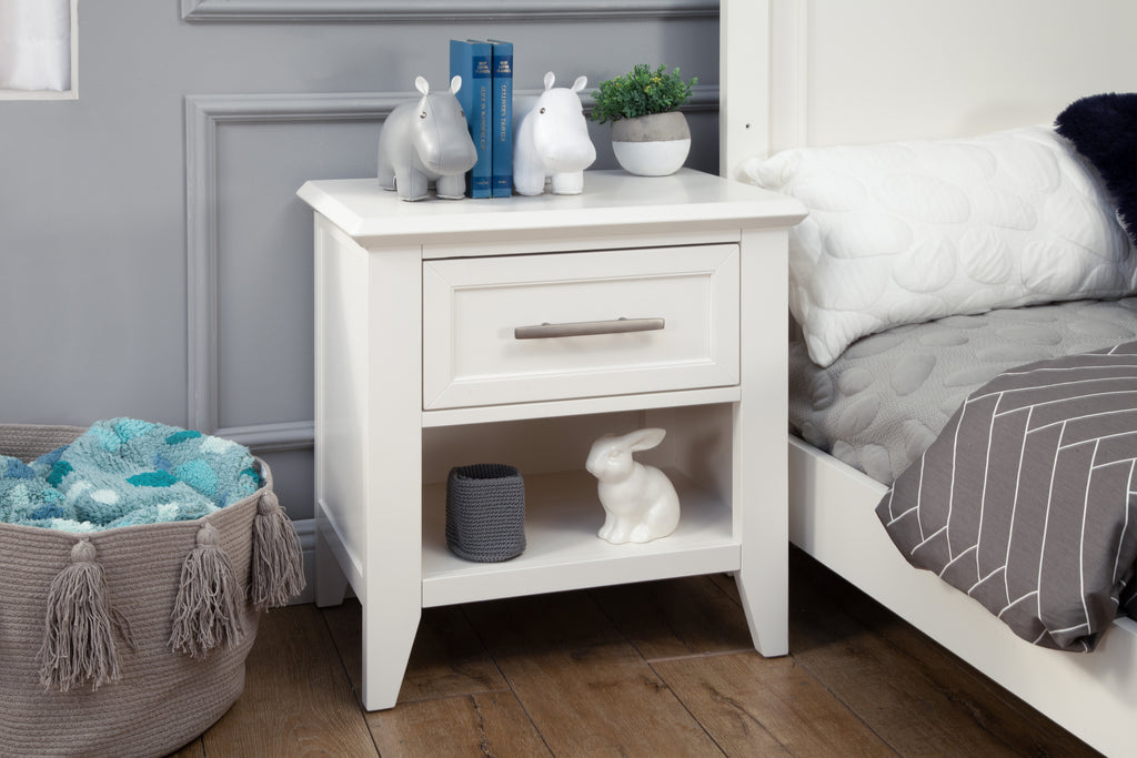 B14460RW,Beckett Nightstand in Warm White