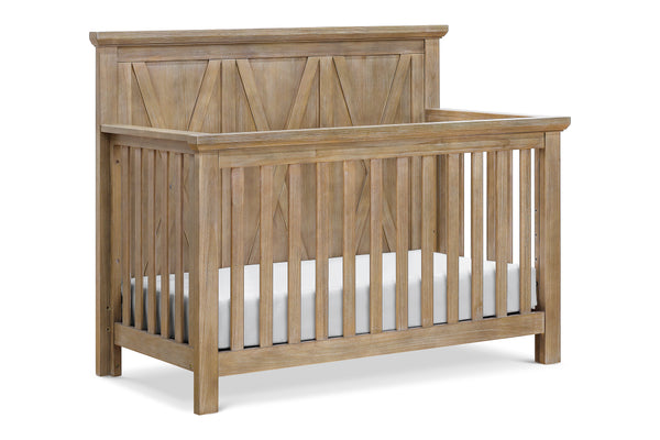 franklin and ben emory farmhouse 4-in-1 convertible crib Driftwood Finish