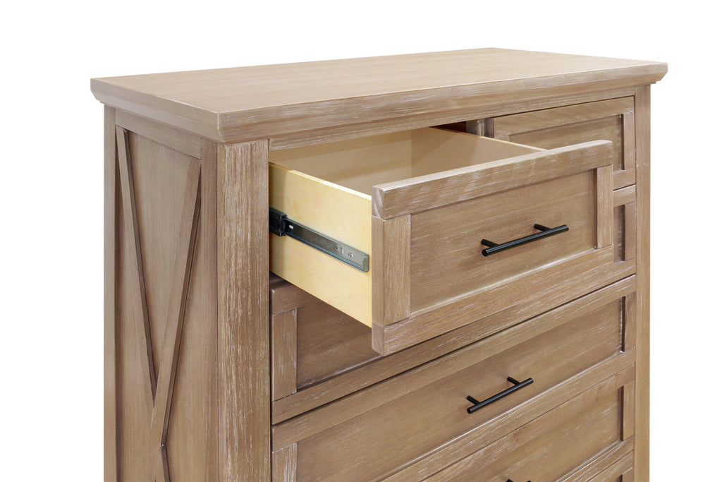 B14525DF,Emory Farmhouse 6-Drawer Chest in Driftwood Finish