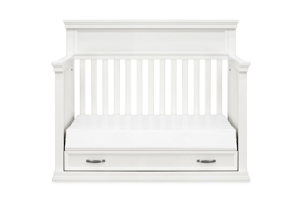 M14101RW,Langford 4-in-1 Convertible Crib in Warm White