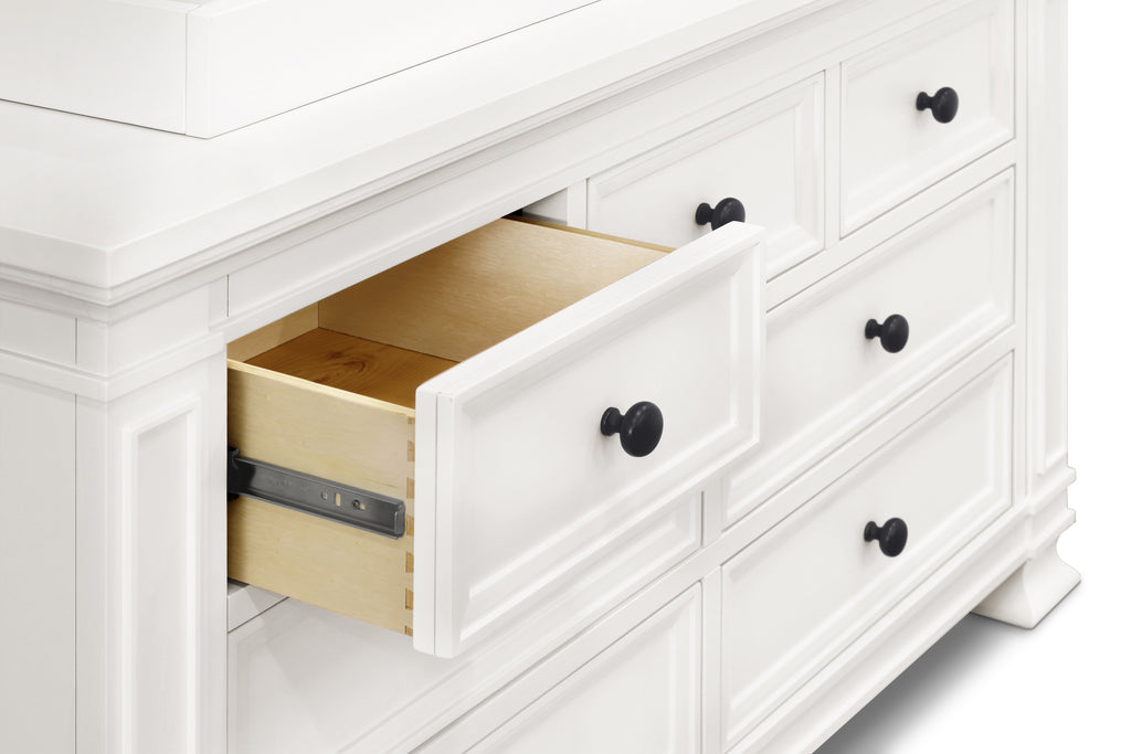 M7616RW,Classic Double-Wide Dresser in Warm White