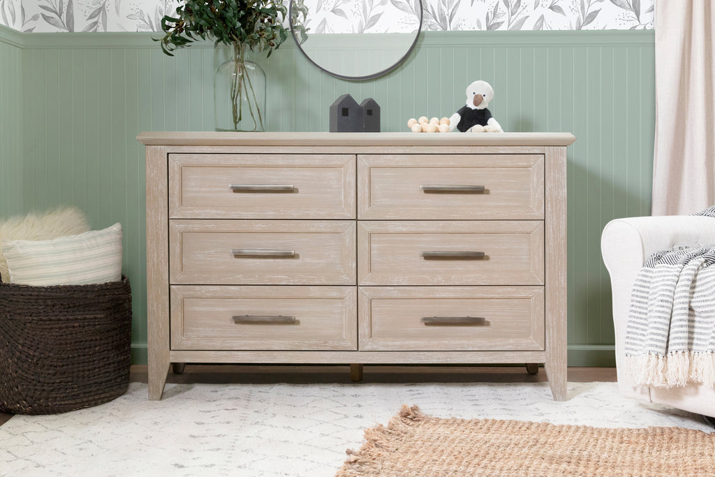 B14416SDB,Beckett 6-Drawer Dresser in Sandbar