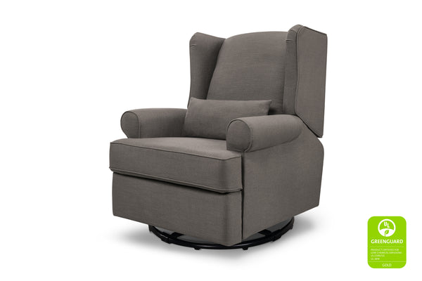 franklin and ben tahoma wingback recliner Stone Grey Linen