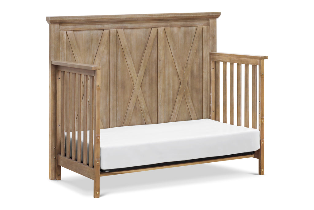 B14501DF,Emory Farmhouse 4-in-1 Convertible Crib in Driftwood Finish