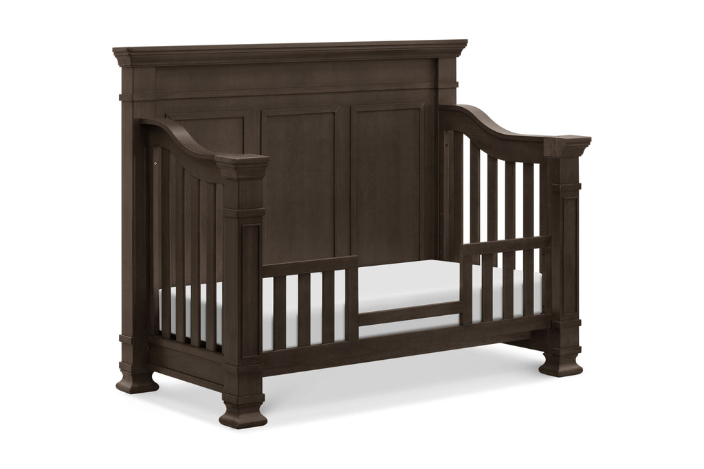 M7601TR,Tillen 4-in-1 Convertible Crib in Truffle