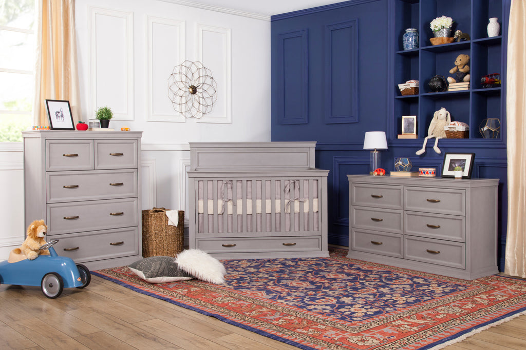M14118IG,Langford 5-Drawer Chest in Windsor Grey