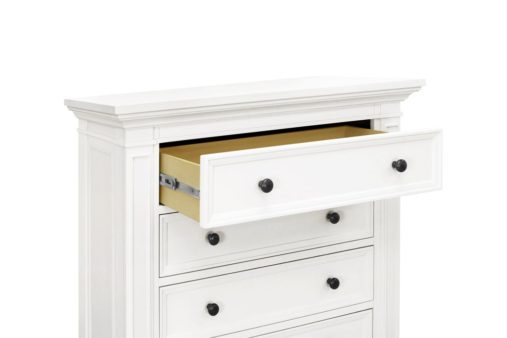 M7617RW,Classic Tall Dresser in Warm White Finish