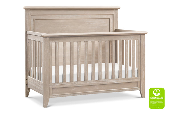 Beckett Rustic 4-in-1  Convertible Flat Top Crib Sandbar