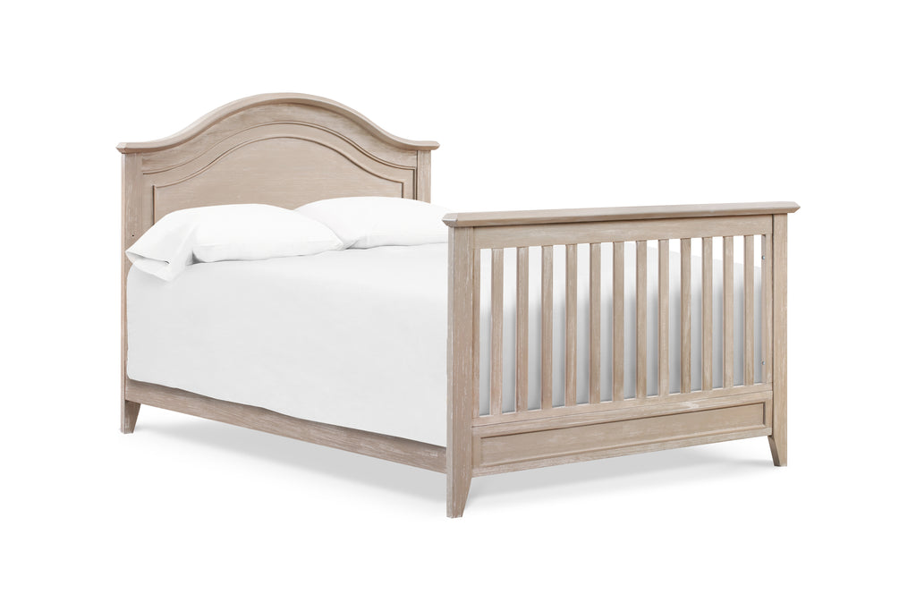 M34401SDB,Beckett Rustic 4-in-1 Convertible Curve Top Crib in Sandbar