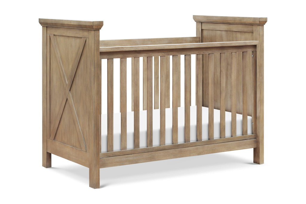 B14541DF,Emory Farmhouse 3-in-1 Convertible Crib in Driftwood