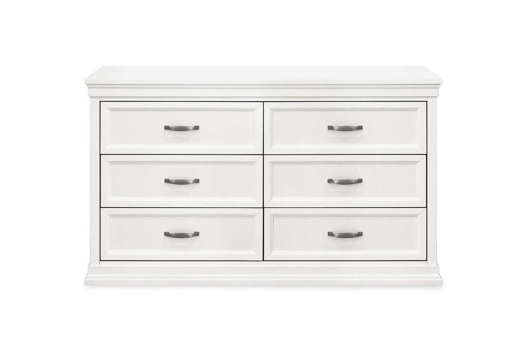 M14116RW,Langford 6-Drawer Dresser in Warm White