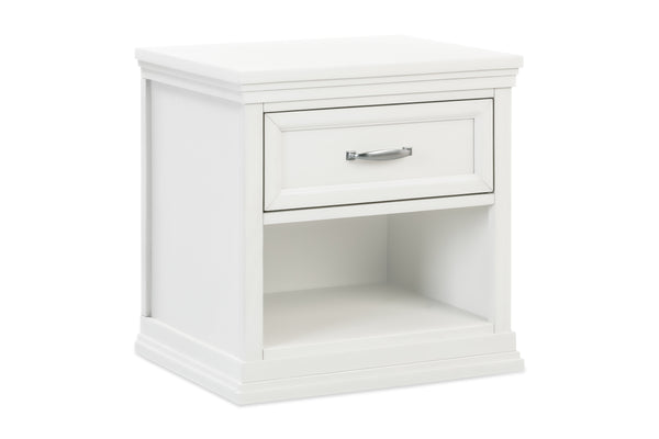 M14160LF,Langford Nightstand in London Fog Warm White