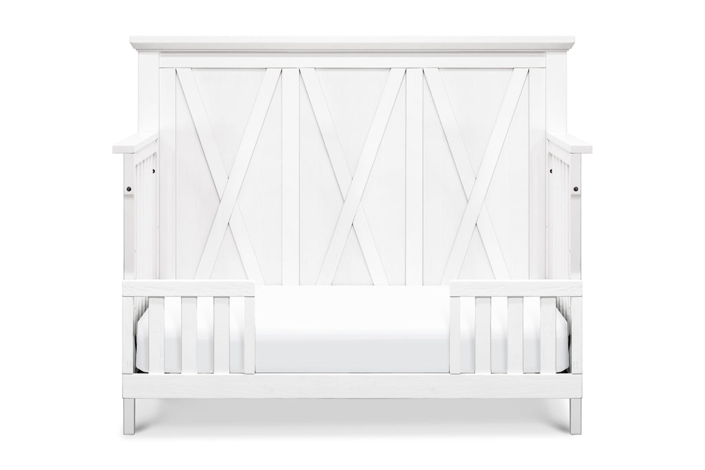 B14501LW,Emory Farmhouse 4-in-1 Convertible Crib in Linen White
