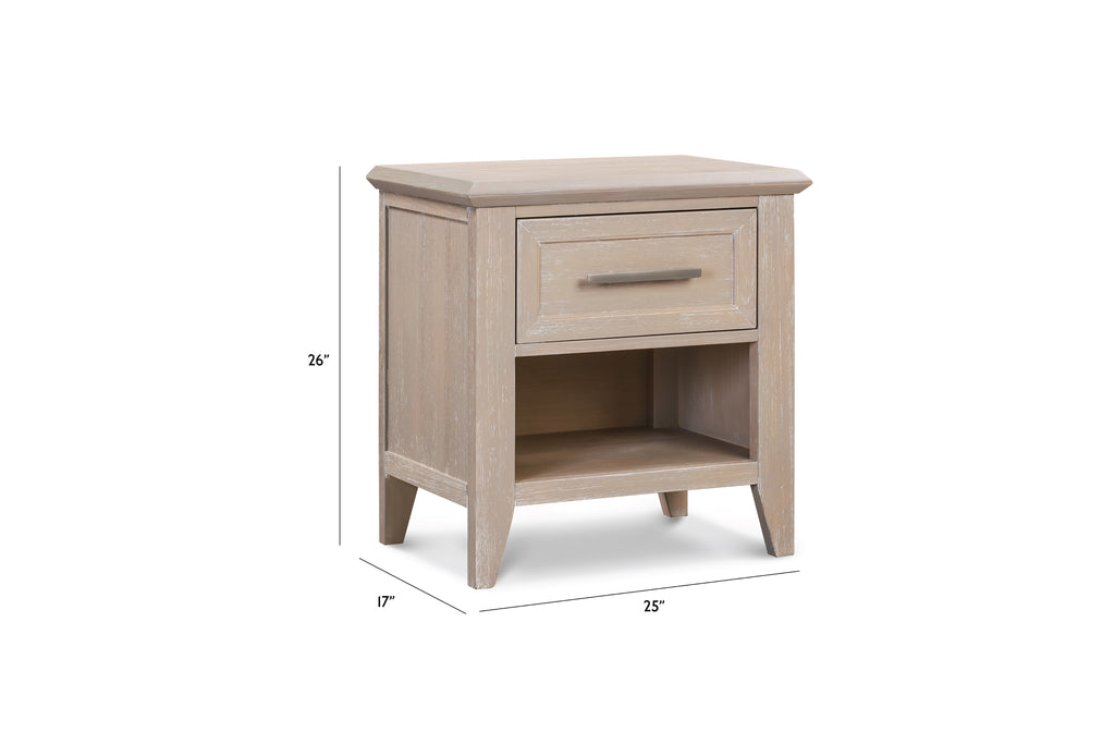 B14460SDB,Beckett Nightstand in Sandbar