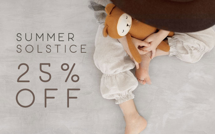 SUMMER SOLTICE! A WEEK OF SALE 25% OFF!