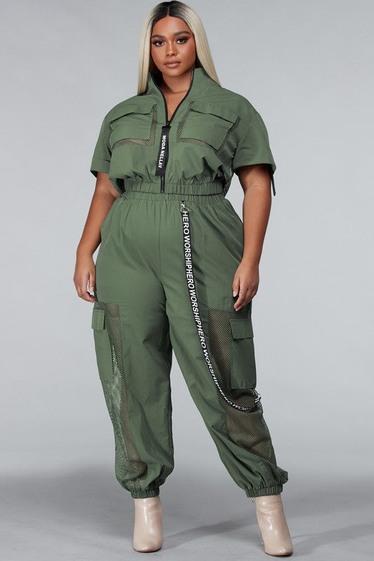 Army Babe Jumpsuit