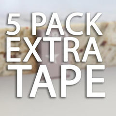 Extra Tape Set (5 Pieces) for BROpener Relocation